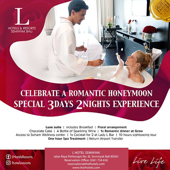 honeymoon package seminyak